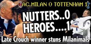 English Media Spurs Milan 2011
