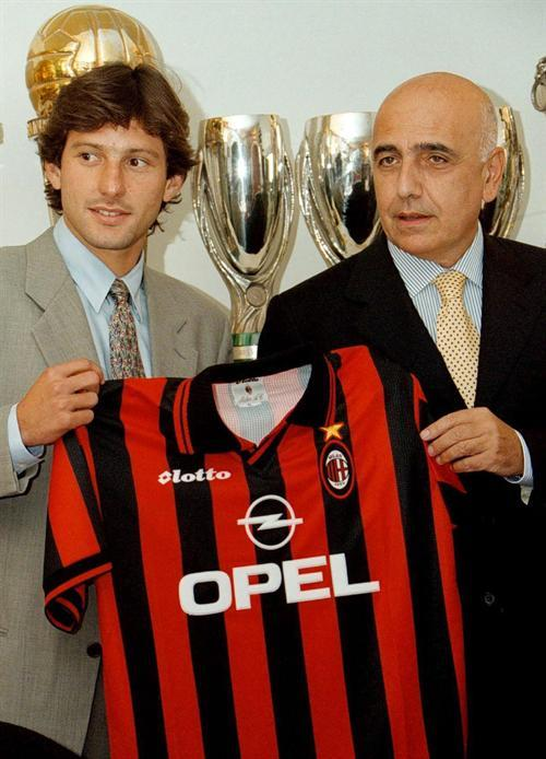 Presentation day: Galliani had fulfilled his mission