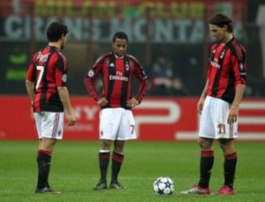The three protagonists of Milan&#039;s attack