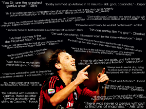 Antonio Cassano Wallpaper By The Red & Black Forums