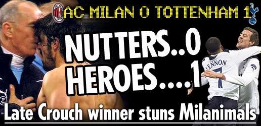 English Media Spurs Milan 2011