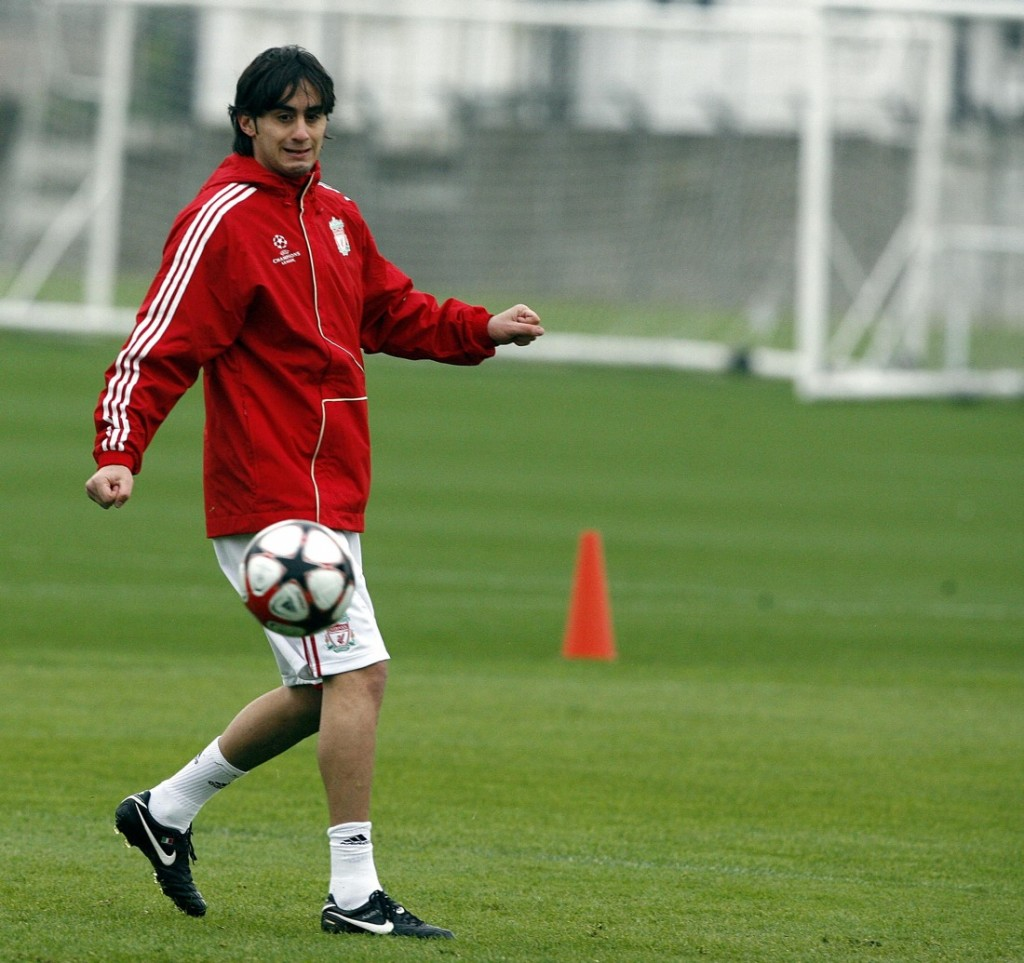 Aquilani With Liverpool